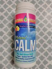 Natural Vitality Natural Calm, Raspberry-Lemon Flavor 8 oz