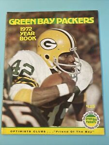 1972 Green Bay Packer Yearbook