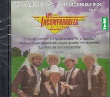 Los Incomparables De Tijuana 20 Exitos Originales Vol 3  CD New Nuevo sealed