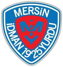 "Mersin İdman Yurdu Turkey Football Soccer Car Bumper Vinyl Sticker Decal 4""X5"""
