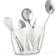 Kitchen Cutlery Caddy Countertop Utensil Holder Cutlery Organizer Flatware Caddy