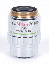 OLYMPUS Neo SPlan 20 NIC  Microscope Objective