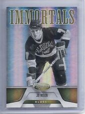 11-12 2011-12 CERTIFIED JOE MULLEN IMMORTALS MIRROR GOLD BASE CARD /25 156 BLUES