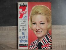 Magazine TELE 7 JOURS – Jacqueline Caurat – n°418 – 23 mars 1968