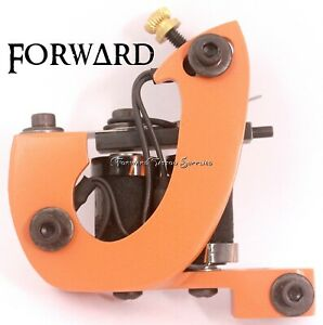 Orange J frame Shader Tattoo Machine Custom Thick Cut Black Orange Coil Washers