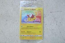 """Carte Pokemon """"Pikachu de Sacha"""" Ash Pikachu sous blister"""
