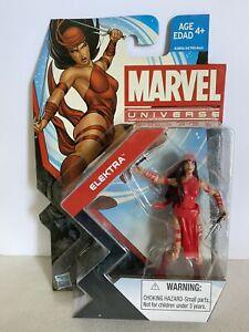 "Marvel Universe 3.75"" Action Figure ELEKTRA Series 5 #006 - Open package"