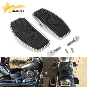 Rider Passenger Footboard Foot Pedal pegs For Honda Shadow ACE VT400 VT750 97-03