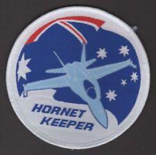 RAAF Royal Australian Air Force McDonnell Douglas F/A-18 Hornet Keeper Patch
