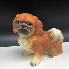 Pekingese Figurine Sculpture statue decor porcelain puppy dog josef originals