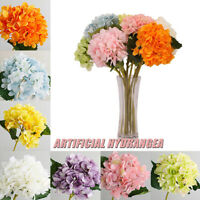 Artificial Silk Fake Flowers Peony Home Wedding Bridal Bouquet Hydrangea Decor/