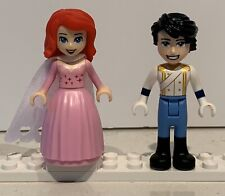 Princess Ariel and Prince Eric - Lego Minifigures