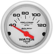 "AU4337M AUTOMETER ULTRA-LITE 2-1/16"" ELEC WATER TEMP GAUGE 40-120deg C"