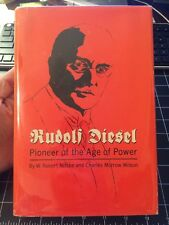 Rudolf Diesel Pioneer Of The Age Of Power By Robert Nitske 1965 OU Press Rare