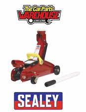 SEALEY 1015CX Trolley Jack 1.5 tonne Short Chassis Great boot Jack for DIY