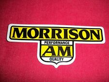 Morrison AM Performance Quality Sticker Decal