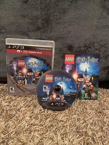 Lego Harry Potter Years 1-4- PS3 Rare *No movie*