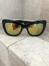 39b8f2499d Quay Australia Sunglasses Women s Breath Of Life Black Yellow NWT Incl Soft  Case
