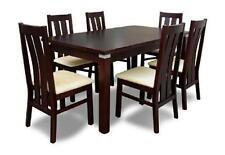 Tisch- & Stuhl-Sets aus Holz mit 6 Teile