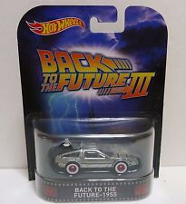 Hot Wheels BACK to the FUTURE PART 111 Delorean Diecast Movie Car