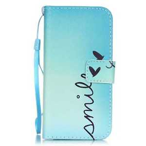 For iPhone 5/6/7/8/X Samsung S8 Wallet Pattern Stand Flip PU Leather Cover Case
