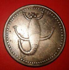 Very Rare Scorpio ~ E.I.Co.One Anna 1818 Temple Token Copper Coin