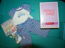 American Girl Bitty Baby Twins Boys Car Pajamas PJs New NIB Retired !!