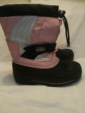 Buster Brown Chill Chasers Thinsulate Lined Girl's Boots Pink Size 2M