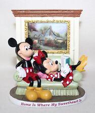 Thomas Kincade Magical Momen~Home Is Where My Sweetheart Is~Mickey & Minnie Coa
