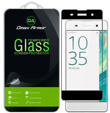 Dmax Armor Sony Xperia XA Tempered Glass Full Cover Screen Protector
