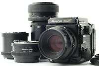 [Exc4] Mamiya RZ67 Pro Sekor Z 110 100-200 FilmBack II Extension Tube Japan a309