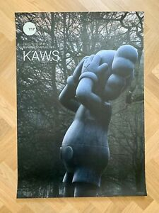 Authentic KAWS YSP Yorkshire Sculpture Park 2016 Large Poster At this time Vers.