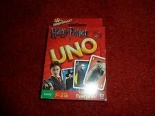 Rare, Harry Potter UNO CARD GAME MATTEL 2010 Sealed, 112 cards, 40th Anniversary