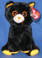 TY MERLIN the HALLOWEEN CAT BEANIE BABY - MINT with MINT TAG