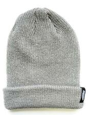 Vans Off The Wall Mismoedig Beanie Pewter Gray Cuff Hat 100% Acrylic New NWT