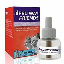 Feliway Friends 30 Day 48ml Refill Reduces Tension & Conflict Between Cats