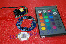 10W RGB LED + Drive control + RGB controller and power supply DIY Kit A392