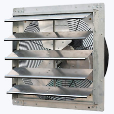 Iliving 20 Wall Mounted Exhaust Fan Automatic Shutter Variable Speed Ve