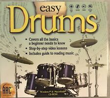 Easy Drums Pc Brand New Win10 8 7 XP