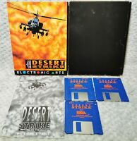 Desert Strike Vintage Video Game - Amiga - Boxed & Complete - Commodore Amiga