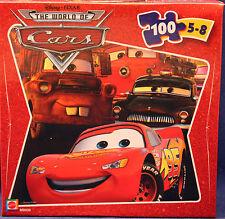 **CARS**Minipuzzle**100 Teile**Mattel**neu und ovp.