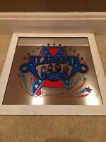 Vintage Alabama Fair/Carnival Prize, Glass Mirror/Tile, 12x12, Country Music