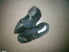Revolution Dancewear Stretch Slip-on Jazz Shoe - Black - Size 4.0 AD style 651