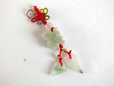 Jade Chino Zodiaco Animal signo Mono encanto colgante fiesta de cumpleaños de Año Nuevo