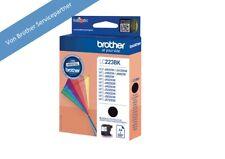 Brother LC223BK Schwarz Tinte original LC-223 für 4120 4420 4620 4625 für 550 S