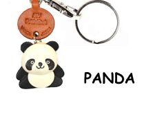 Panda Handmade 3D Leather Animals Keychain/Charm *VANCA* Made in Japan #56215