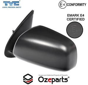 LH LHS Left Hand Electric Door Mirror Black For Toyota Hilux Ute 2WD 4WD 05~10
