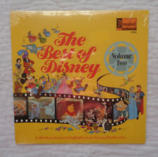 Disneyland Records 2503 The Best Of Disney Volume II lp, STILL SEALED MINT TOO!