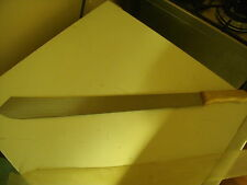 machete 71 cm long  thats a blade full tang blade good for fishing camping