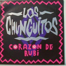 """LOS CHUNGUITOS - CORAZON DE RUBI - 7"""" SINGLES (F743]"""